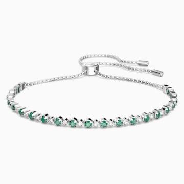 Bracelet Subtle, vert, Métal rhodié - Swarovski, 5465355