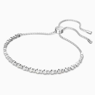 Bracelet Subtle, blanc, Métal rhodié - Swarovski, 5465384