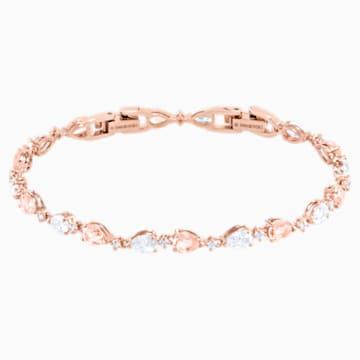 Bracelet Vintage, rose, Métal doré rose - Swarovski, 5466883