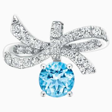 Gorgeous Pendant, Ice Blue - Swarovski, 5468489