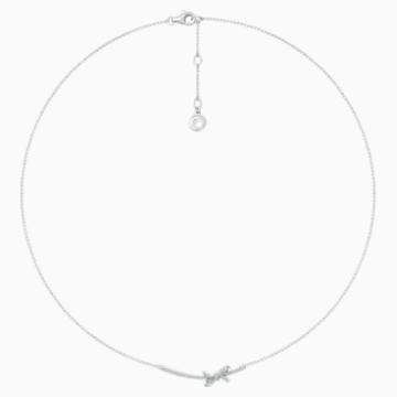 18K WG Dia Gorgeous Necklace - Swarovski, 5468491
