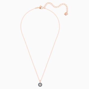 Luckily Pendant, Multi-coloured, Rose-gold tone plated - Swarovski, 5468919
