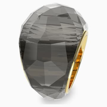 Swarovski Nirvana gyűrű, szürke színű, aranyszínű PVD bevonattal - Swarovski, 5470027