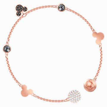 Swarovski Remix Collection Mickey Strand, multicolor, Baño en tono Oro Rosa - Swarovski, 5470622