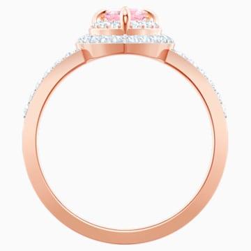 One-ring, Meerkleurig, Roségoudkleurige toplaag - Swarovski, 5470693