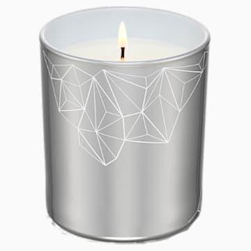 Kerze, Walnuss & Feige, klein, silberfarben - Swarovski, 5471053