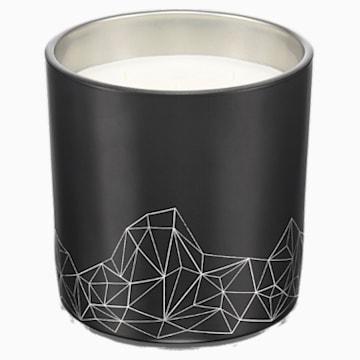 Candle, Sandalwood & Cedar, Large, Black - Swarovski, 5471055