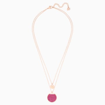 Pendente Ginger, rosa, Placcato oro rosa - Swarovski, 5472448