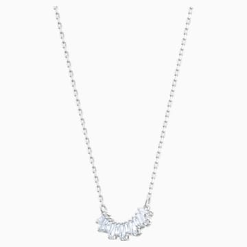 Collier Sunshine, blanc, Métal rhodié - Swarovski, 5472490