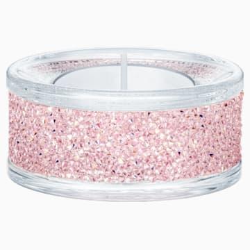 Portacandele Shimmer, rosa - Swarovski, 5474276