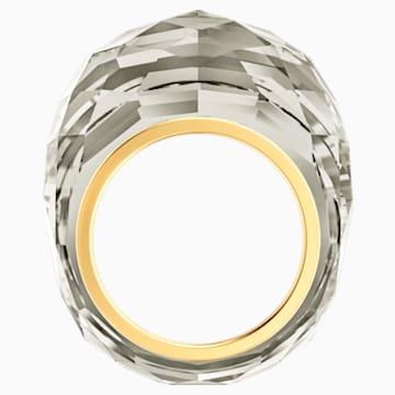 Anello Swarovski Nirvana, grigio, PVD tonalità oro - Swarovski, 5474356