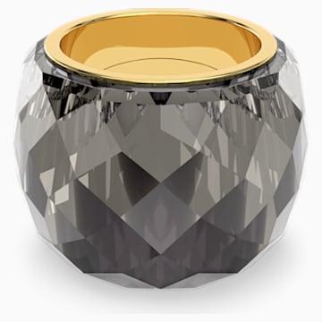 Swarovski Nirvana gyűrű, szürke színű, aranyszínű PVD bevonattal - Swarovski, 5474357