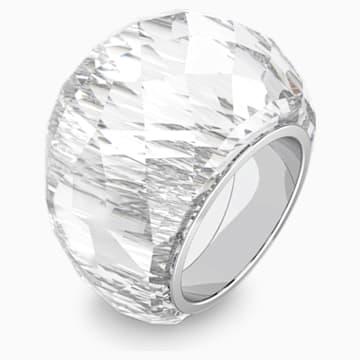 Swarovski Nirvana 戒指, 銀色, 不銹鋼 - Swarovski, 5474364