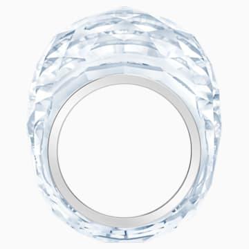 Inel Swarovski Nirvana, nuanță argintie, oțel inoxidabil - Swarovski, 5474364