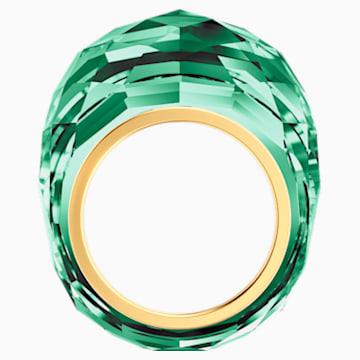 Swarovski Nirvana Ring, grün, Vergoldetes PVD-Finish - Swarovski, 5474365