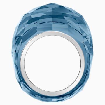 Bague Swarovski Nirvana, bleu, acier inoxydable - Swarovski, 5474371