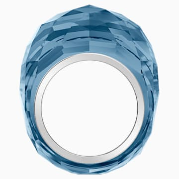 Swarovski Nirvana Yüzük, Mavi, Paslanmaz çelik - Swarovski, 5474373
