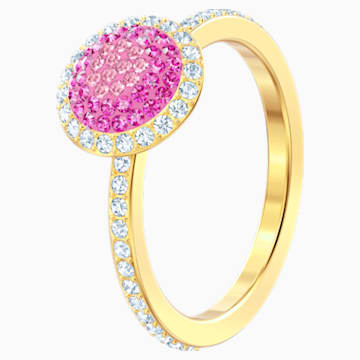 No Regrets Ring, Multi-coloured, Gold-tone plated - Swarovski, 5474420