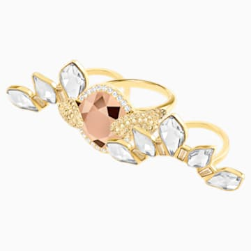 Odysseia Motif Ring, Multi-colored, Gold-tone plated - Swarovski, 5474423
