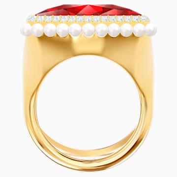 Lucky Goddess Cocktail Ring, rot, Vergoldet - Swarovski, 5474552