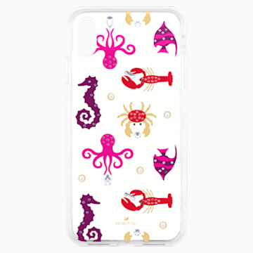 Sea Life Smartphone case with integrated Bumper, iPhone® XS Max, Transparent - Swarovski, 5474751