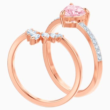 One Set, Multi-colored, Rose-gold tone plated - Swarovski, 5474939