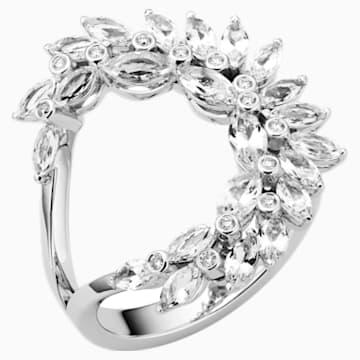 Luna Ring, 18K White Gold, Size 52 - Swarovski, 5476772