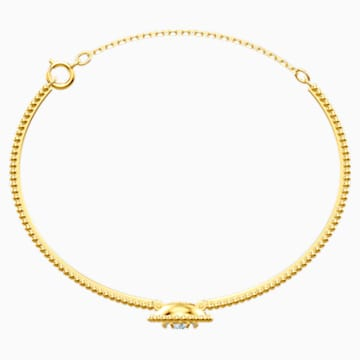 Oxygen Bangle, Multi-coloured, Gold-tone plated - Swarovski, 5479936