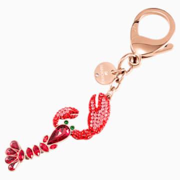 Sea Life 手袋墜飾, 紅色, 混搭多種鍍層 - Swarovski, 5479965