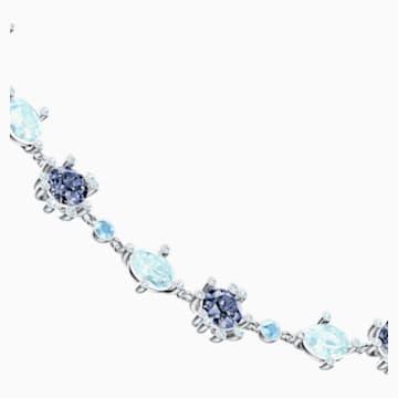 Olive 项链, 彩色设计, 镀铑 - Swarovski, 5480481