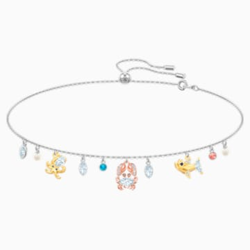 Ocean Choker, Multi-colored, Mixed plating - Swarovski, 5480781