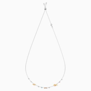 Ras-de-cou Ocean, multicolore, combinaison de métaux plaqués - Swarovski, 5480781