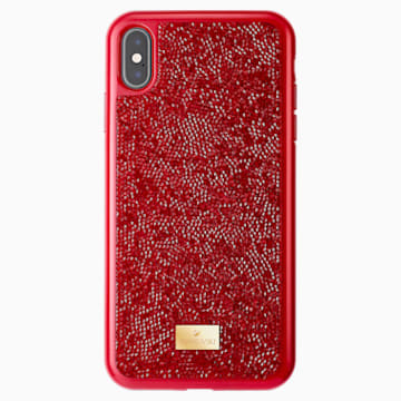 Glam Rock Smartphone 套, iPhone® XS Max, 红色 - Swarovski, 5481454