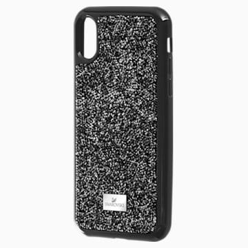 Glam Rock Чехол для смартфона с противоударной защитой, iPhone® XS Max, Черный Кристалл - Swarovski, 5482283