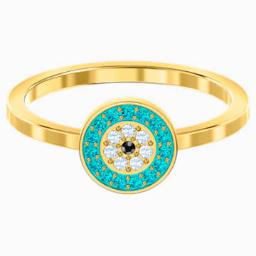 Luckily Ring, Multi-colored, Gold-tone plated - Swarovski, 5482514