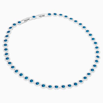 Angelic Колье, Синий Кристалл, Родиевое покрытие - Swarovski, 5482698