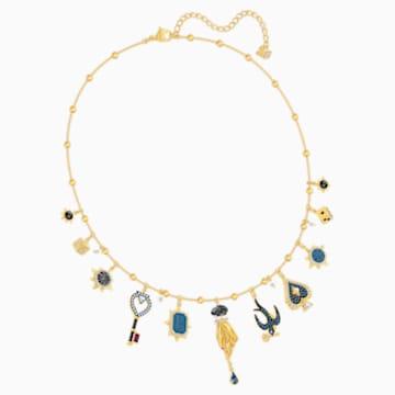 Tarot Magic nyaklánc, többszínű, arany árnyalatú bevonattal - Swarovski, 5482976