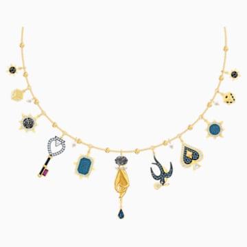 Tarot Magic Necklace, Multi-coloured, Gold-tone plated - Swarovski, 5482976
