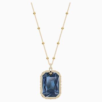Tarot Magic medálos lánc, kék, arany árnyalatú bevonattal - Swarovski, 5482977