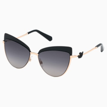 Swarovski Солнцезащитные очки, SK0220-05B, Черный Кристалл - Swarovski, 5483808