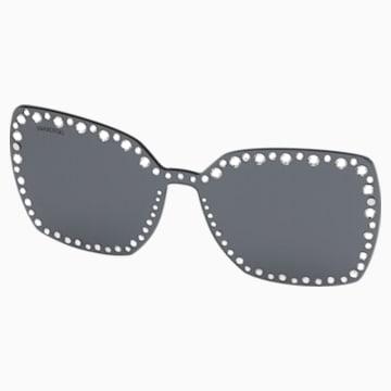 Swarovski-opklikbaar voorzetstuk voor zonnebrillen, SK5330-CL 16A, Grijs - Swarovski, 5483813