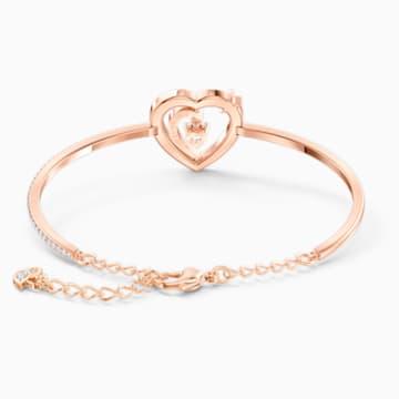 Starry Night Heart 蓝色心形造型仿水晶手镯- Swarovski, 5484018