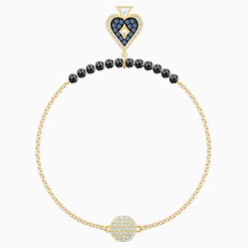 Swarovski Remix Collection Spade Strand, Multi-colored, Gold-tone plated - Swarovski, 5486590
