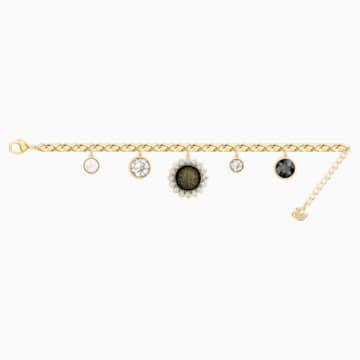 Millennium 手鏈, 多色設計, 鍍金色色調 - Swarovski, 5486998