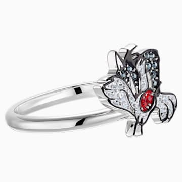 Looney Tunes Sylvester Motif Ring, Multi-coloured, Rhodium plated - Swarovski, 5487638