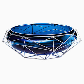 Vaso/Portaoggetti Framework, blu - Swarovski, 5488384