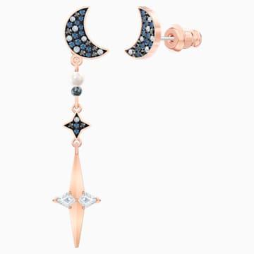 Swarovski Symbolic 穿孔耳環花托, 多色設計, 多種金屬潤飾 - Swarovski, 5489533