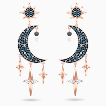 Kolczyki sztyftowe Swarovski Symbolic, wielokolorowe, różnokolorowe metale - Swarovski, 5489536