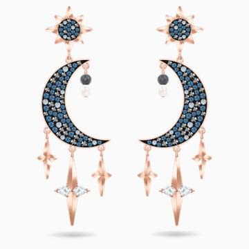 Swarovski Symbolic 穿孔耳環, 多色設計, 多種金屬潤飾 - Swarovski, 5489536