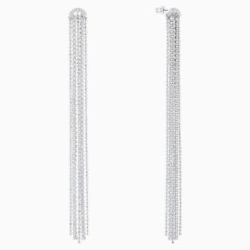 Fit , White, Rhodium plated - Swarovski, 5490190